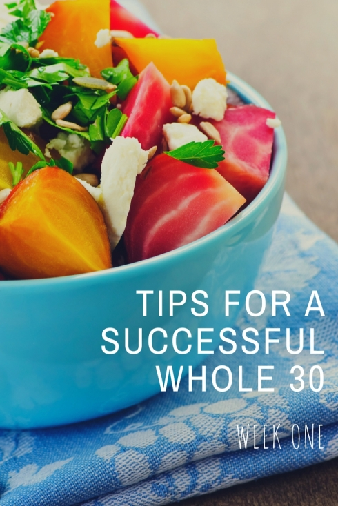 Tips for a Successful Whole 30