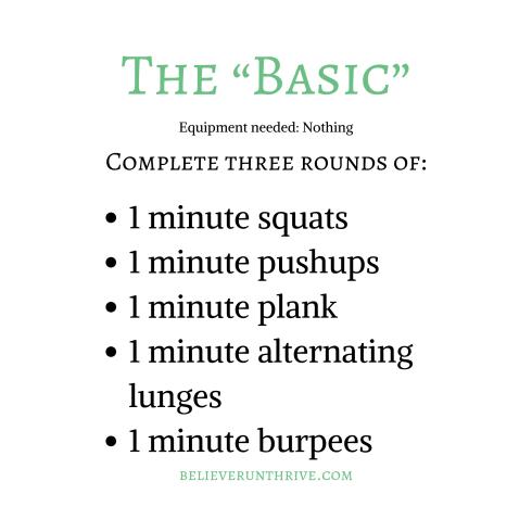 """The """"Basic"""" (1)"""